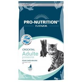 Flatazor CROCKTAIL ADULT POISSONS - корм для кошек для профилактики мочекаменной болезни (рыба)