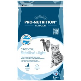 Flatazor CROCKTAIL STERILISE/LIGHT - корм для стерилизованных/склонных к полноте кошек (курица, утка и индейка)