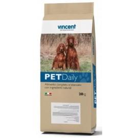 Vincent PetDaily Dog Active - полнорационный корм для активных собак с курицей