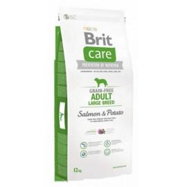 Brit Care Grain-free Adult Large Breed Salmon & Potato - беззерновой корм для взрослых собак крупных пород (лосось, картофель)