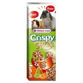 VERSELE-LAGA CRISPY STICKS - палочки-лакомства для кроликов и морских свинок с фруктами (2x55г)