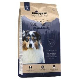 Chicopee Classic Nature Line Soft Salmon & Rice - корм для собак с чувствительным пищеварением с лососем и рисом