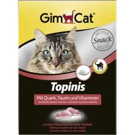 Gimpet Topinis - витаминные мышки для кошек - творог, таурин (190шт)
