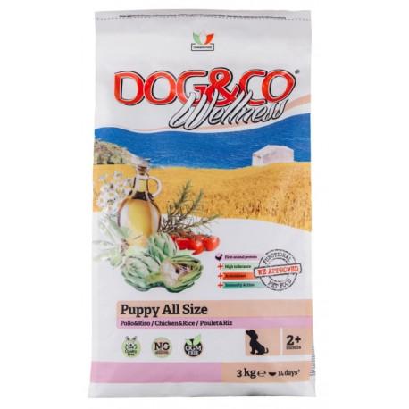 """""""Dog&сo"""" Puppy All Size (Chicken & Rice) - корм для щенков всех пород с курицей и рисом"""