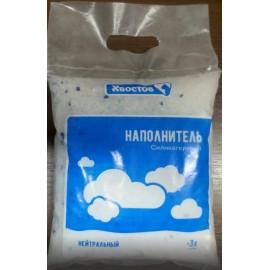 Наполнитель Dr.Hvostoff силикагелевый, без запаха, 8л (3кг)