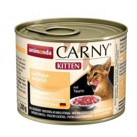 Carny Kitten - коктейль из мяса домашних птиц, 200г