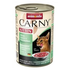 Carny Kitten - с курицей и кроликом, 400г