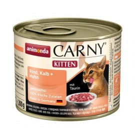 Carny Kitten - с телятиной и курицей, 200г