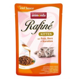 Rafine SOUPE Kitten Суп-коктейль из мяса дом. птицы и креветок (100 г)