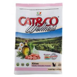 Cat&Co Kitten Chicken and Rice - корм для котят с курицей и рисом