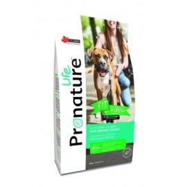 Pronature Life Dog Fit With Deboned Chicken - корм для собак всех пород и возрастов с мясом курицы без костей