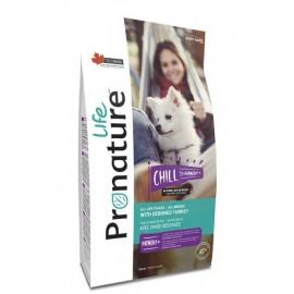 Pronature Life Dog Chill With Deboned Turkey - корм для собак всех пород и возрастов с мясом индейки без костей
