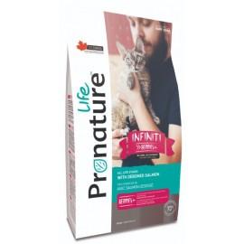 Pronature Life Cat Infiniti With Deboned Salmon - корм для кошек всех пород и возрастов с мясом лосося без костей