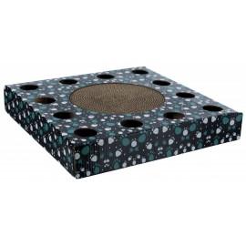"""48007 Когтеточка """"TRIXIE"""", для кошек с игрушками, картонная, черная, 33*33 см"""