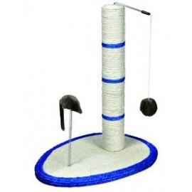 """4306 Когтеточка """"TRIXIE"""", с плюшевым шариком и мышкой на пружинке, 50см"""