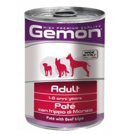 Gemon Dog Adult Pate Beef Tripe - консервы для собак паштет с говяжьим рубцом, 400г
