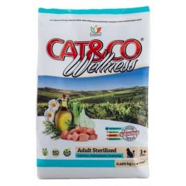 Cat&Co Adult Adult Sterilized Chicken and Barley - корм для стерилизованных кошек с курицей и ячменем