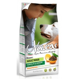 Adragna NAXOS Adult MAXI Rabbit & Citrus - Монопротеиновый корм для взрослых собак крупных пород с кроликом и цитрусовыми