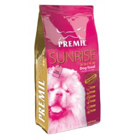 Premil Sunrise – корм для усиления иммунитета собак, беременных сук, для собак, склонных к аллергиям