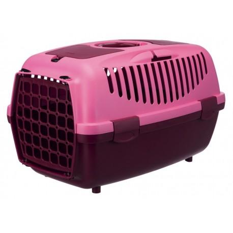 """39829 Переноска """"TRIXIE"""" Traveller Capri II для мелких животных до 8 кг, ягодная/розовая"""