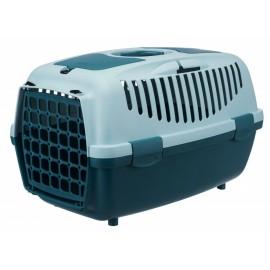"""39828 Переноска """"TRIXIE"""" Traveller Capri II для мелких животных до 8 кг, бирюзовая/светло-бирюзовая"""