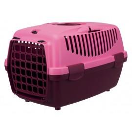 """39819 Переноска """"TRIXIE"""" Traveller Capri I для мелких животных до 6 кг, ягодный/розовый"""
