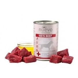 NUEVO SENSITIVE консервы для взрослых собак с чувствительным пищеварением со 100% говядиной (упаковка 6 штук по 400г)