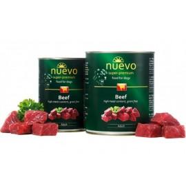 NUEVO консервы для взрослых собак с говядиной (упаковка 6 штук по 800г)