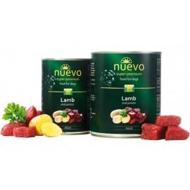 NUEVO консервы для взрослых собак с ягненком и картофелем (упаковка 6 штук по 400г)