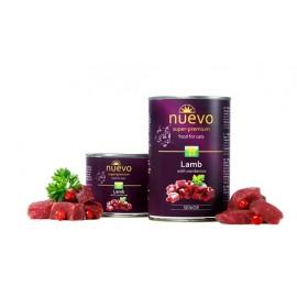 NUEVO Senior консервы для кошек с ягненком и клюквой (упаковка 6 штук по 200г)