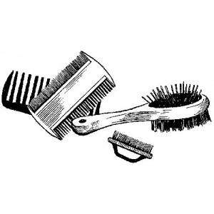 Щётки и расчёски для собак